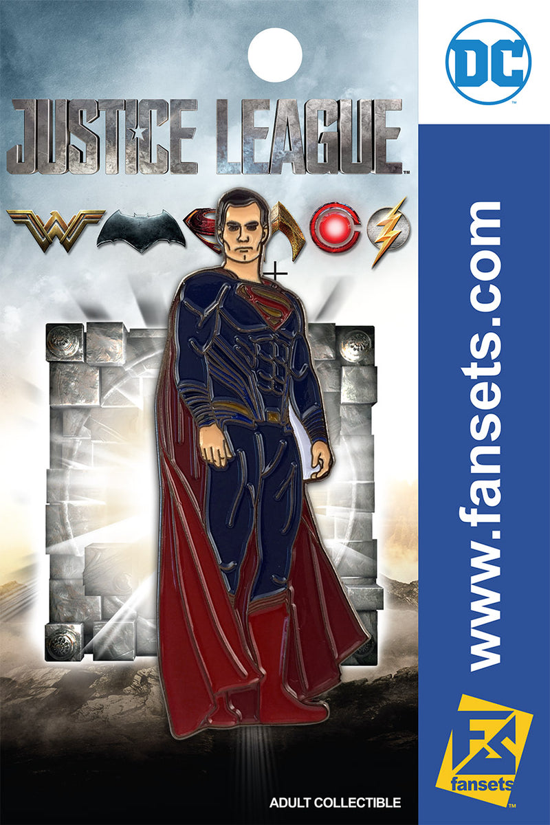 Justice League Movie Superman SG FanSets Pin