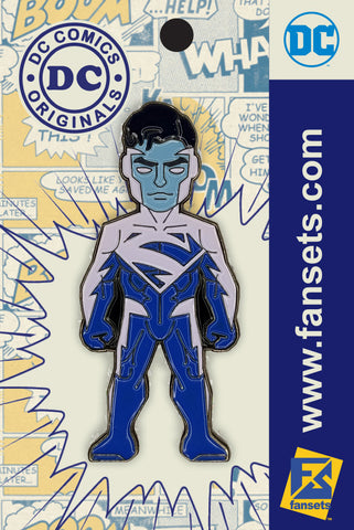 DC Comics Classic Superman BLUE Licensed FanSets Pin