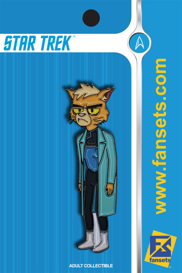 Star Trek Lower Decks DR. T'ANA Licensed FanSets MicroCrew Collector's Pin