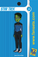 Star Trek Lower Decks D'VANA TENDI Licensed FanSets MicroCrew Collector's Pin