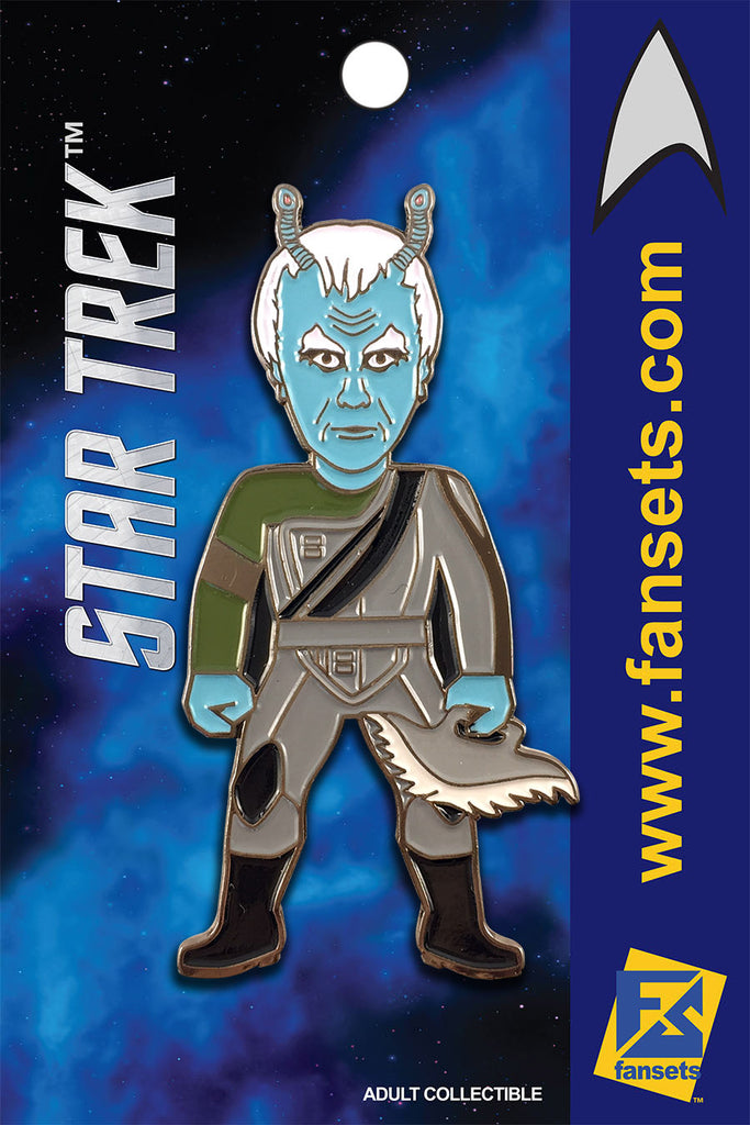 Star Trek Thy'Lek SHRAN Licensed FanSets MicroCrew Collector's Pin