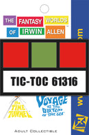 Irwin Allen's Project Tic-Toc Employee BADGE from The Time Tunnel™ Pin