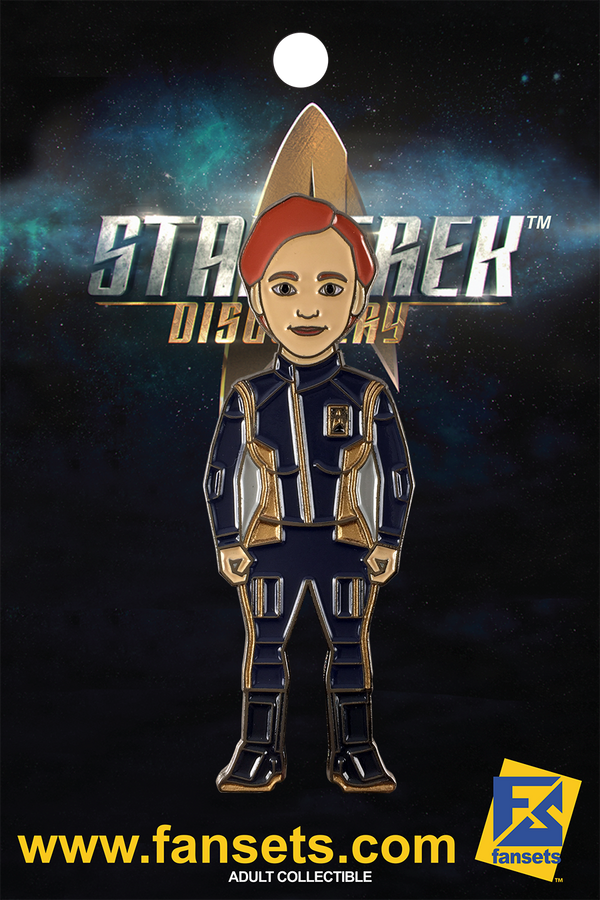 Star Trek Discovery Cadet Sylvia TILLY Licensed FanSets MicroCrew Collector's Pin