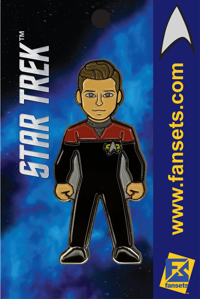 Star Trek Lieutenant TOM PARIS  Licensed FanSets Collector's Pin