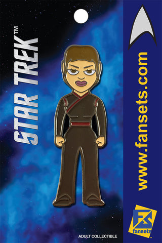 Star Trek Commander T'POL Licensed FanSets MicroCrew Collector's Pin