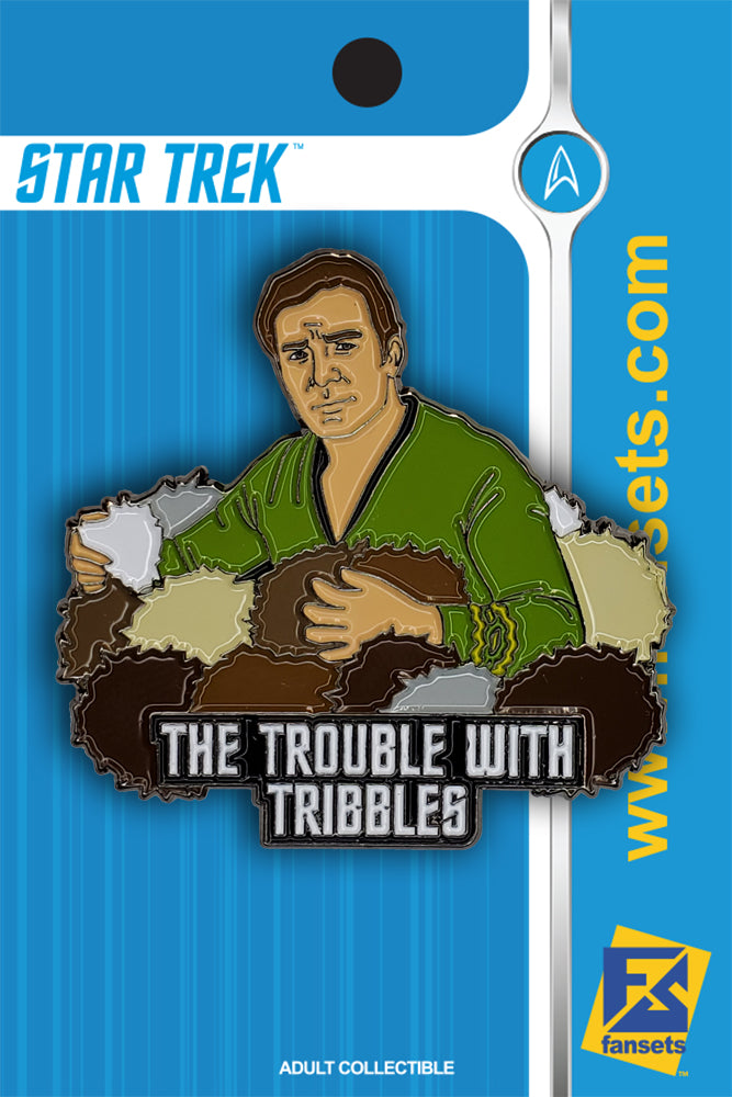 "Star Trek ""The Trouble With Tribbles"" Licensed FanSets Pin"