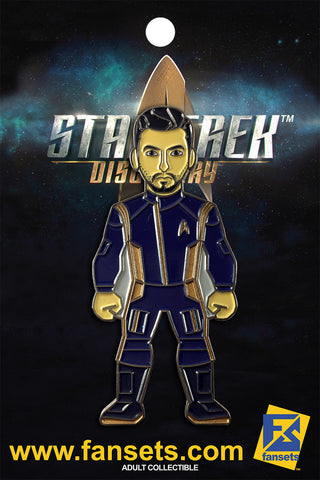 Star Trek Discovery Lieutenant Ash TYLER Licensed FanSets MicroCrew Collector's Pin