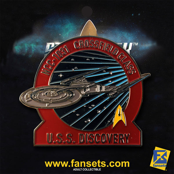 Star Trek: Discovery U.S.S. DISCOVERY NCC-1031 Licensed FanSets Pin
