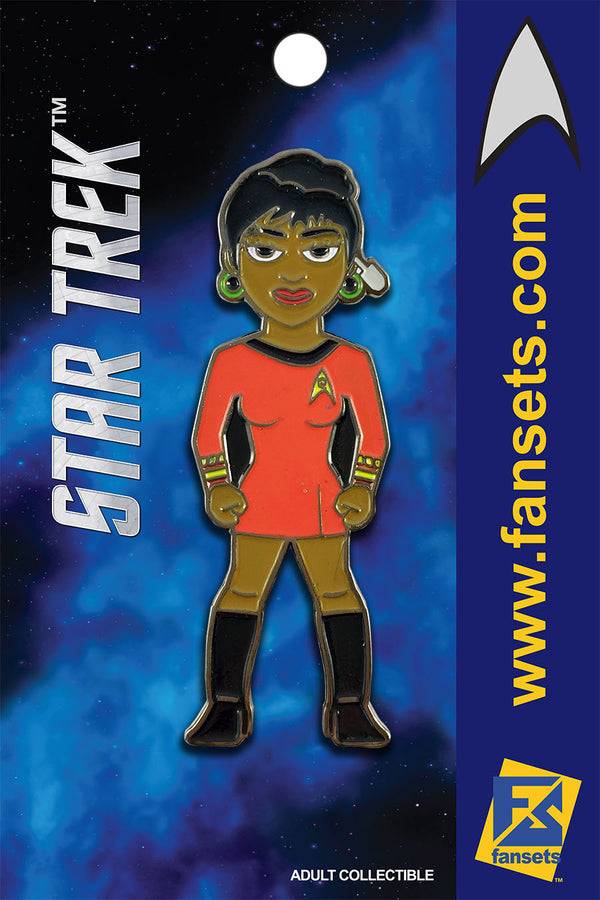 Star Trek UHURA Licensed FanSets MicroCrew Collector's Pin