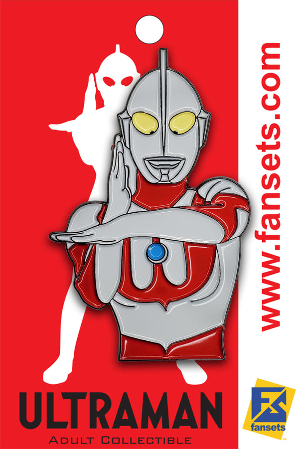 Classic Ultraman SPACIUM Beam Licensed FanSets Pin