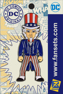 DC Comics Classic UNCLE SAM Licensed FanSets Pin MicroJustice