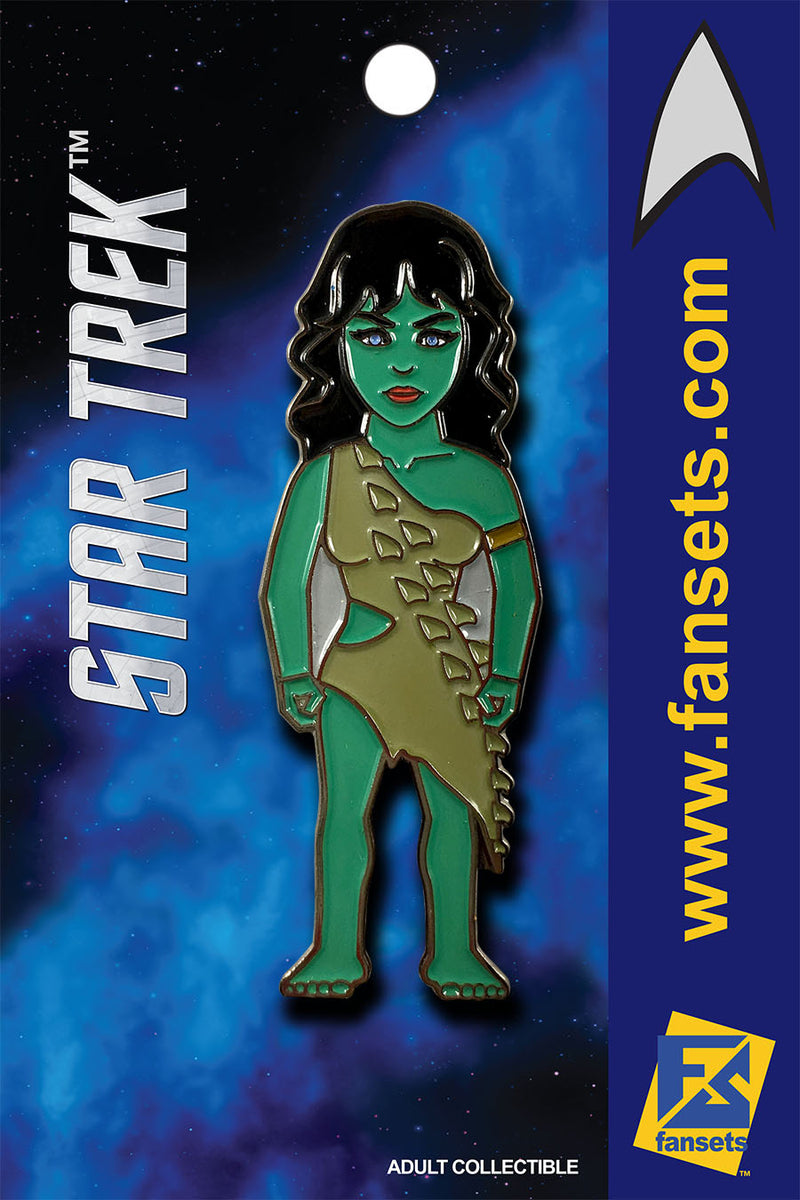 Star TreK VINA (Orion Slave Girl, Menagerie) Licensed FanSets MicroCrew Collector's Pin