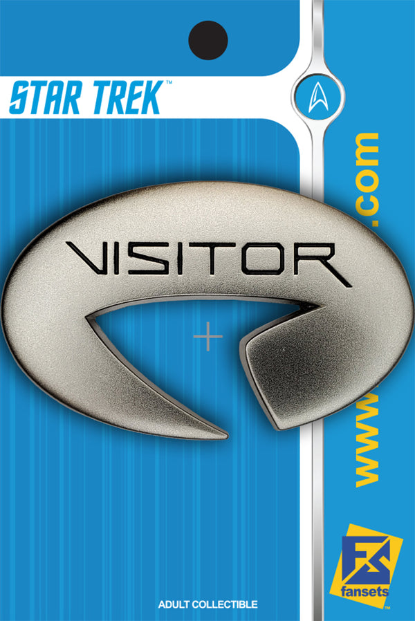 Star Trek: Picard VISITOR Badge FanSets Pin