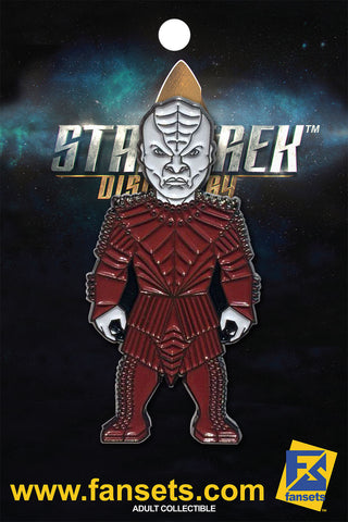 Star Trek Discovery VOQ Licensed FanSets MicroCrew Collector's Pin`