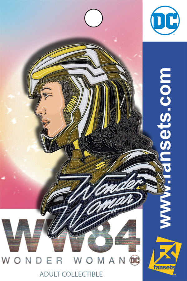 DC Comics WONDER WOMAN 84 PROFILE Licensed FanSets Pin MicroJustice