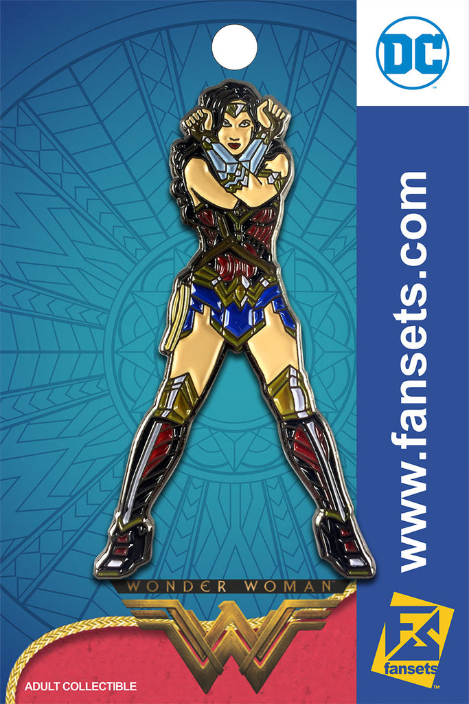 DC Comics Wonder Woman Movie Bracers Licensed FanSets Pin MicroJustice