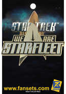 "Star Trek: Discovery ""We are Starfleet"" Licensed FanSets Pin"