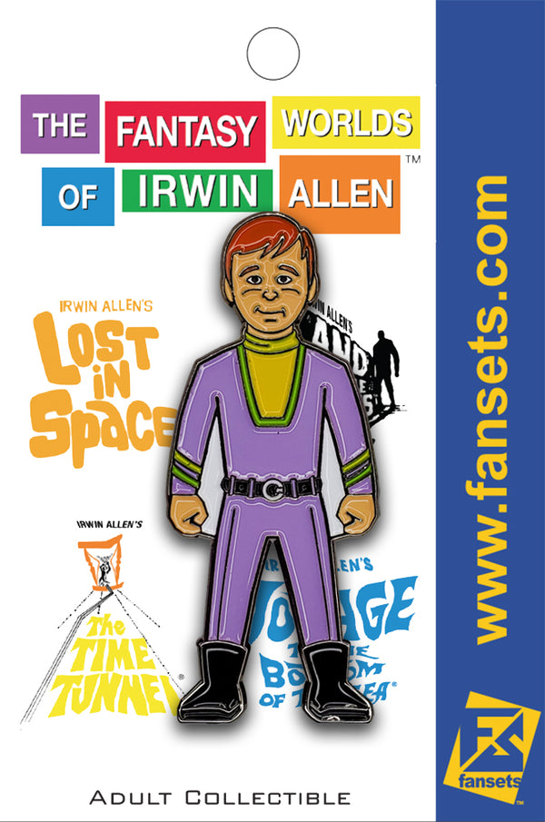 Irwin Allen WILL ROBINSON Licensed Fansets Pin