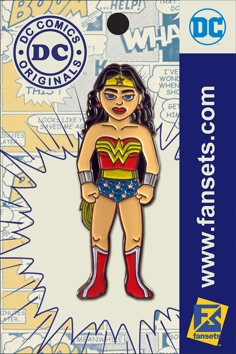 DC Comics Classic WONDER WOMAN Licensed FanSets Pin