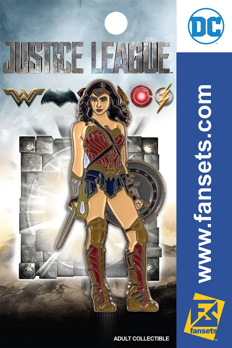 Justice League Movie Wonder Woman SG FanSets Pin
