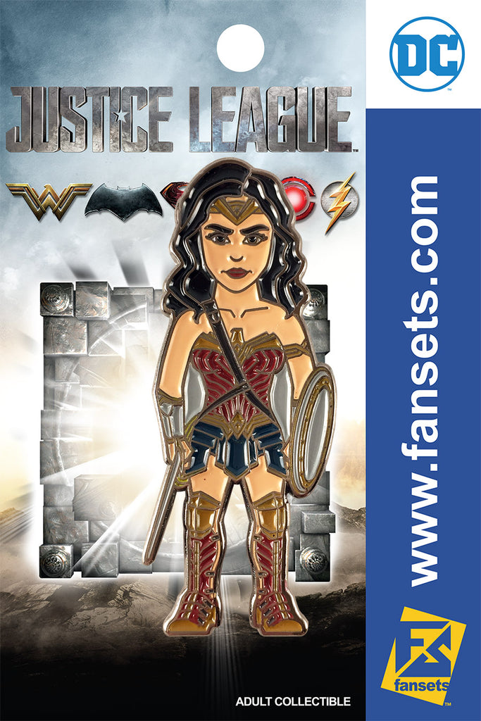DC Comics Justice League MOVIE WONDER  WOMAN Licensed FanSets Pin MicroJustice