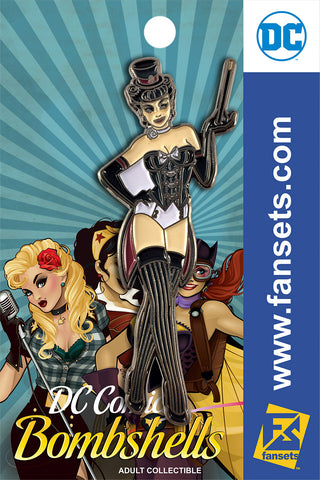 DC Comics DC Bombshells STYLE ZATANNA Licensed FanSets Pin MicroChracters
