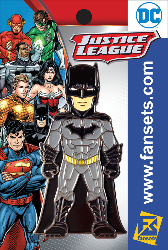 DC Comics Justice League BATMAN (New 52)  Licensed FanSets Pin MicroJustice