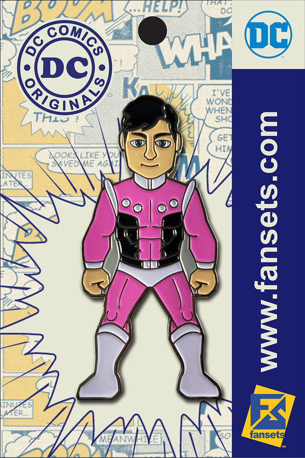 DC Comics Classic COSMIC BOY Licensed FanSets Pin MicroJustice