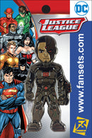 DC Comics New 52 Cyborg Licensed FanSets Pin