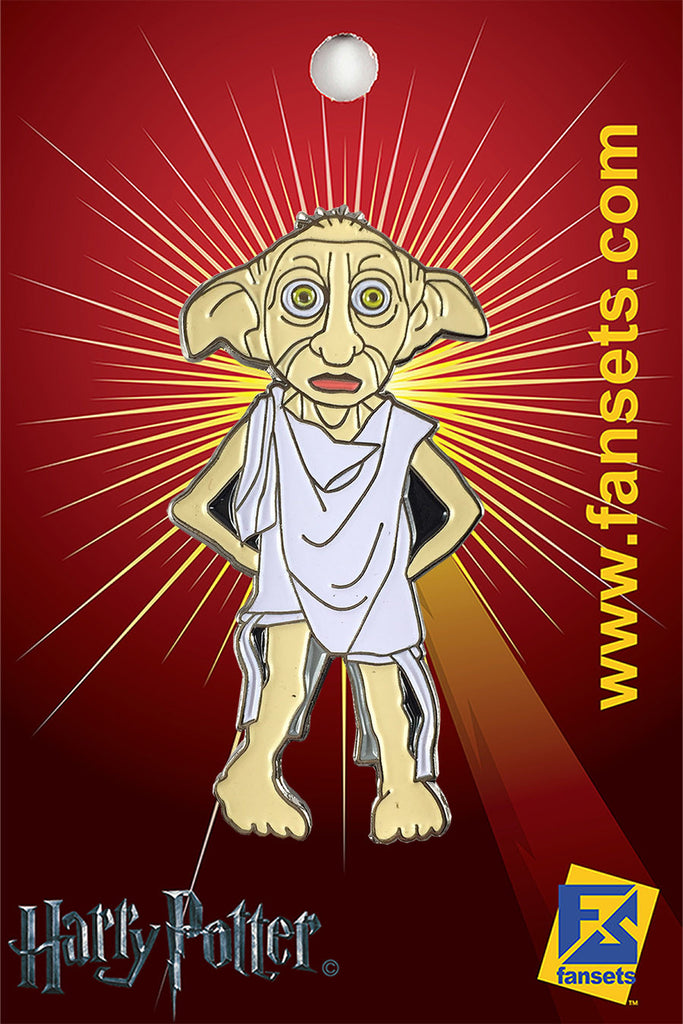 On Order Harry Potter DOBBY The House Elf Licensed FanSets Pin MicroMagic