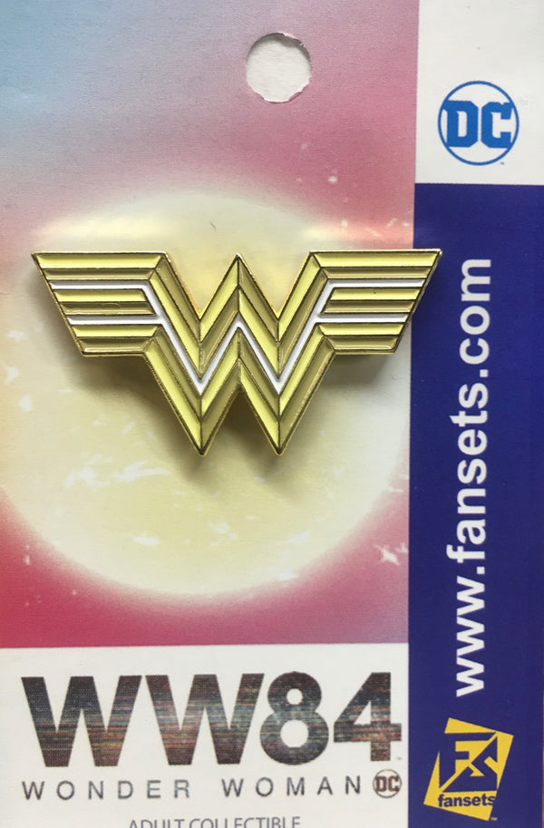 DC Comics WONDER WOMAN 84 MOVIE EMBLEM Licensed FanSets Pin MicroJustice