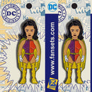 DC Comics Classic DUO DAMSEL 2 PACK Legion of Super Heroes Licensed FanSets Pin MicroJustice