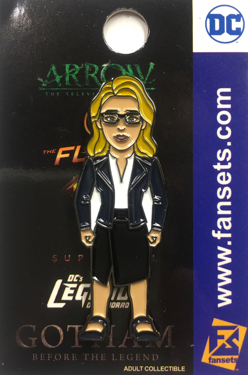 DC Comics DCTV FELICITY Smoak OVERWATCH Licensed FanSets Pin Arrow