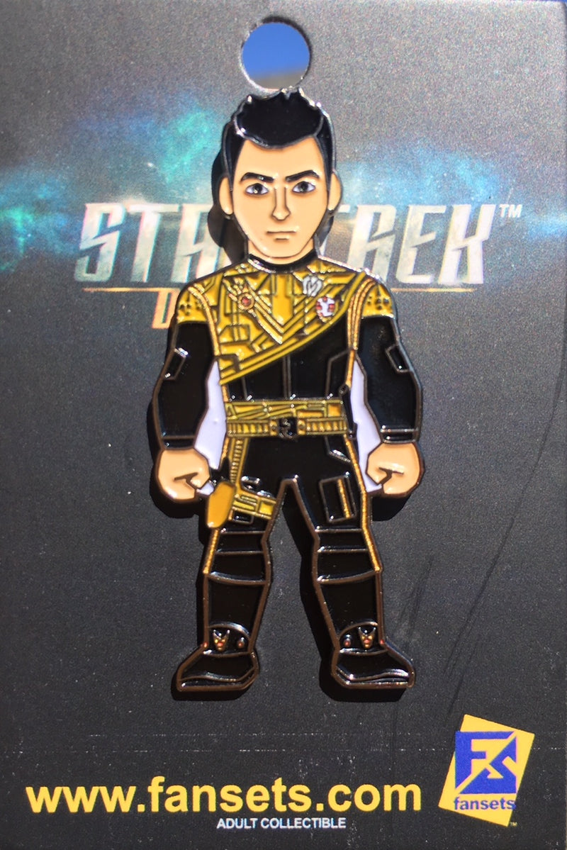 Star Trek Discovery MIRROR Captain Danby CONNOR Licensed FanSets MicroCrew Collector's Pin