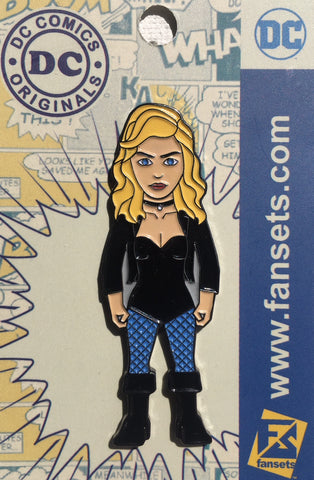 DC Comics Classic BLACK CANARY Licensed FanSets Pin MicroChracters