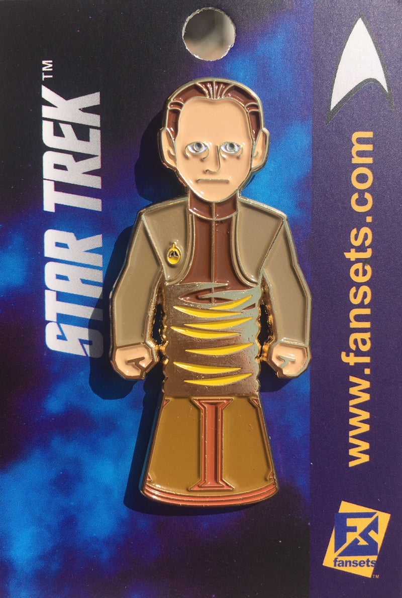 Star Trek ODO/BUCKET Licensed FanSets MicroCrew Collector's Pin