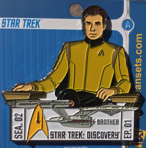 Star Trek Discovery SEASON TWO EPISODE ONE Licensed FanSets EpisodePins Collector's Pin