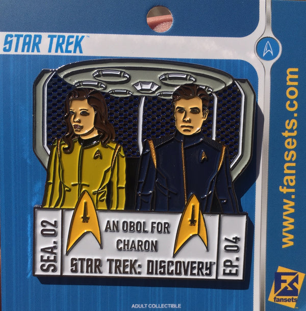 Star Trek Discovery SEASON TWO EPISODE FOUR Licensed FanSets EpisodePins Collector's Pin