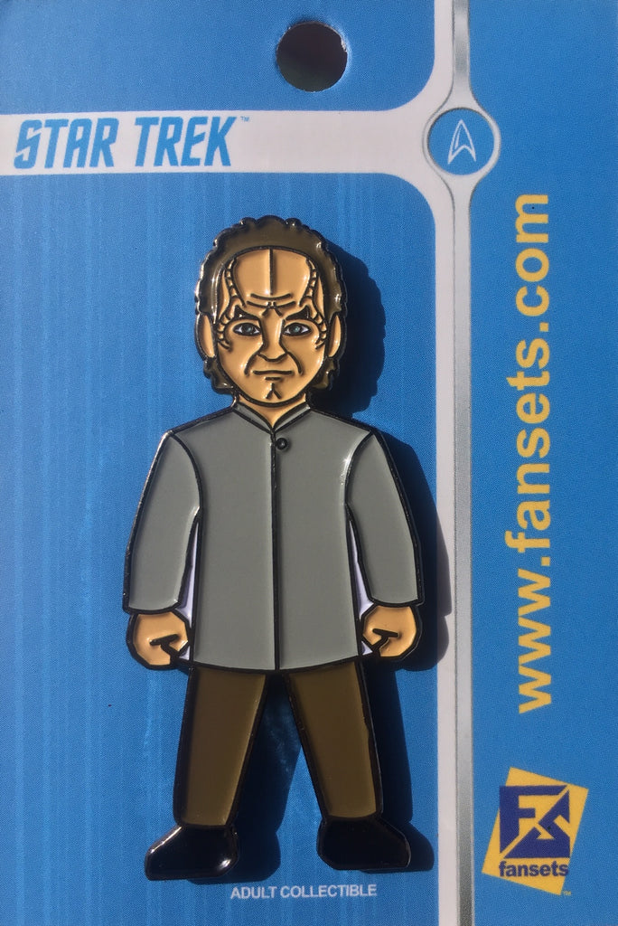 Star Trek DR. PHLOX Licensed FanSets MicroCrew Collector's Pin