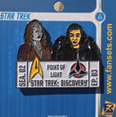 Star Trek Discovery SEASON TWO EPISODE THREE Licensed FanSets EpisodePins Collector's Pin