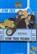 Star Trek: Picard Episode Pins Season One EPISODE SEVEN Licensed FanSets Pin