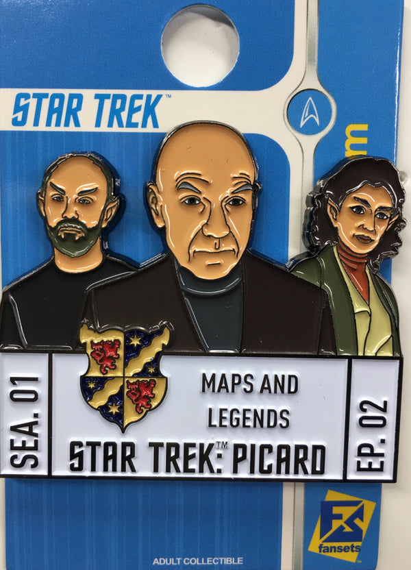 Star Trek: Picard Episode Pins Season One EPISODE TWO Licensed FanSets Pin