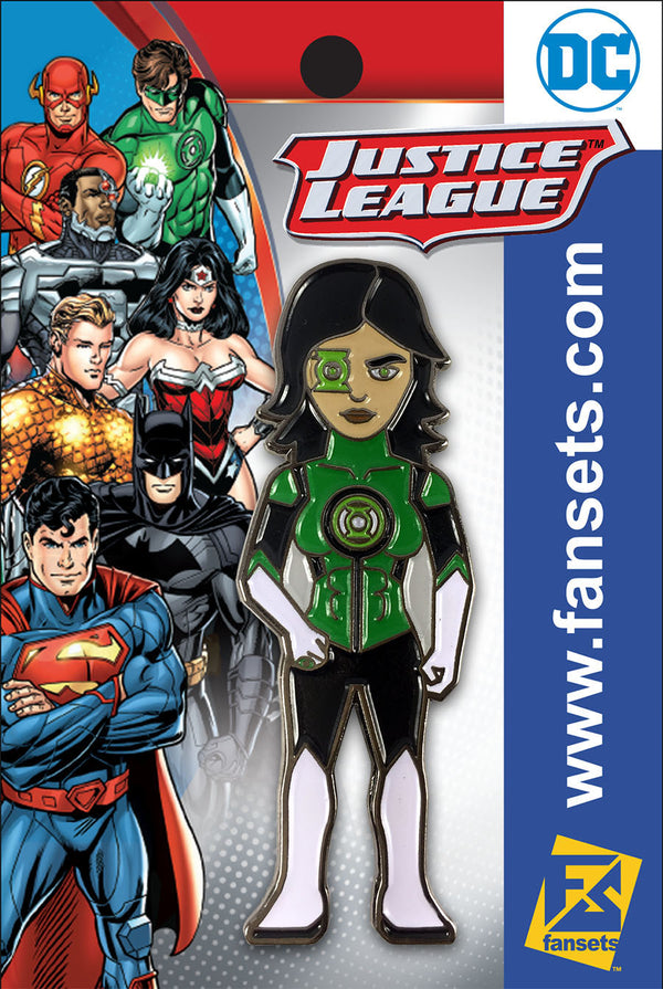 DC Comics Rebirth Jessica Cruz Green Lantern FanSets Pin