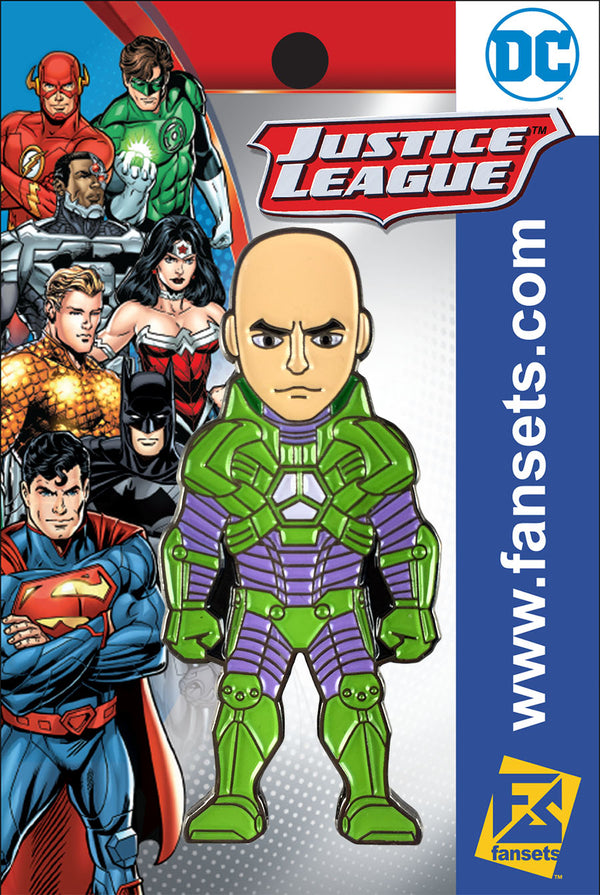 DC Comics New 52 Lex Luthor Licensed FanSets Pin