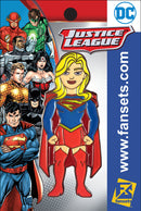 DC Comics Justice League SUPERGIRL (Rebirth) Licensed FanSets Pin MicroJustice