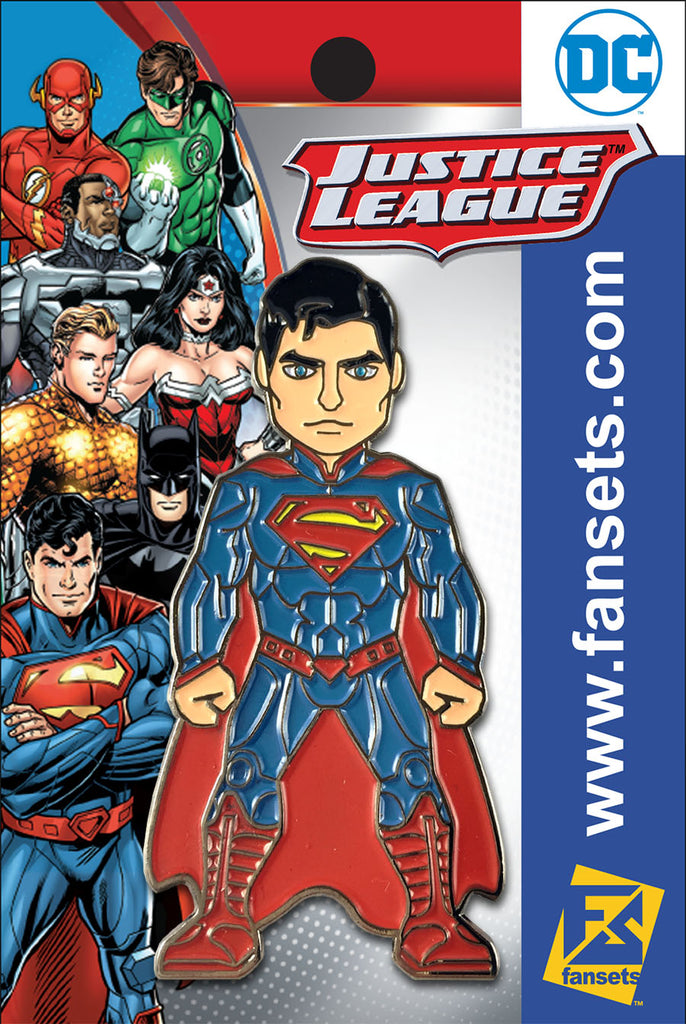 DC Comics Justice League SUPERMAN (New 52) Licensed FanSets Pin MicroJustice