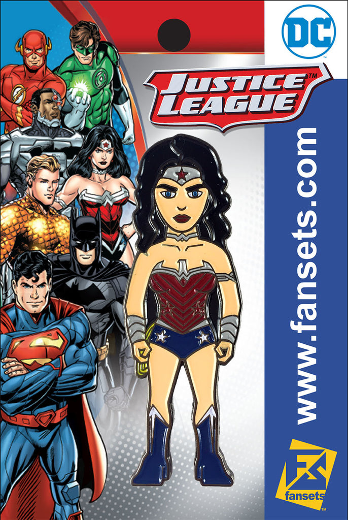 DC Comics Justice League WONDER WOMAN (New 52) Licensed FanSets Pin MicroJustice