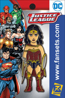 DC Comics Justice League WONDER WOMAN (Rebirth) Licensed FanSets Pin MicroJustice