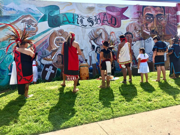Aztec Blessing for Carlsbad Mural