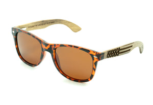 Military Tortoise Sunglasses